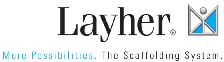Layher Logo English
