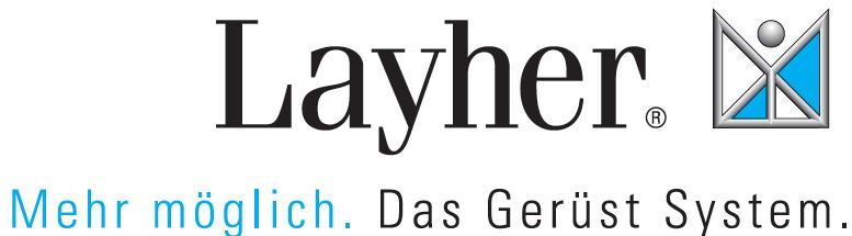 layher gerüst logo